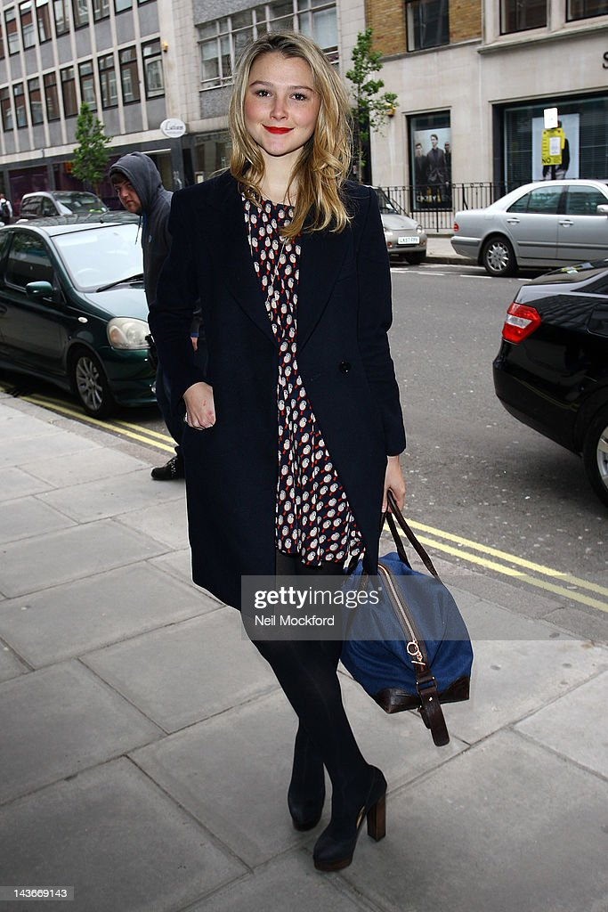 Amber Atherton attends The HUB Silent Auction Afternoon Tea at The Sanderson Hotel on May 2, 2012 in London, England.