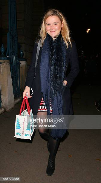 Amber Atherton attends the launch of Skate at Somerset House on November 10 2014 in London England