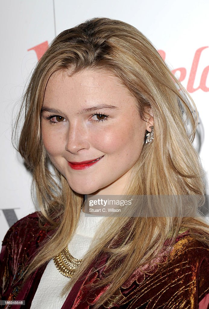 <a gi-track='captionPersonalityLinkClicked' href=/galleries/search?phrase=Amber+Atherton&family=editorial&specificpeople=7192882 ng-click='$event.stopPropagation()'>Amber Atherton</a> attends the launch of the Vogue Pop Up Club as part of Westfield London's 5th birthday celebrations at Westfield on October 30, 2013 in London, England.