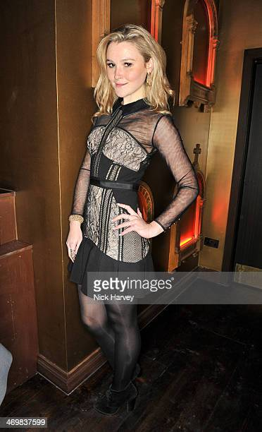 Amber Atherton attends the Matthew Williamson afterparty in association with Cristiana Arcangeli and beautydrink during London Fashion Week AW14 at...