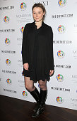 Amber Atherton attends the mothers2mothers World AIDS day VIP lunch at Mondrian Hotel on December 1 2014 in London England