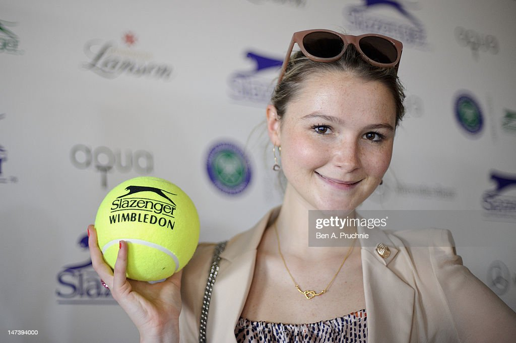 Amber Atherton attends The Slazenger Party 2012 at Aqua on June 28, 2012 in London, England.