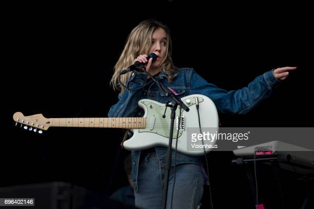 Amber Bain also known as The Japanese House performs at The Parklife Festival 2017 at Heaton Park on June 10 2017 in Manchester England