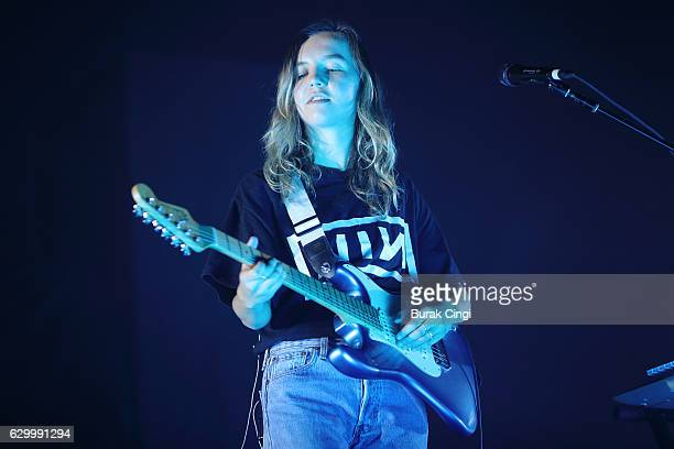 Amber Bain of the Japanese House performs at the O2 Arena on December 15 2016 in London England