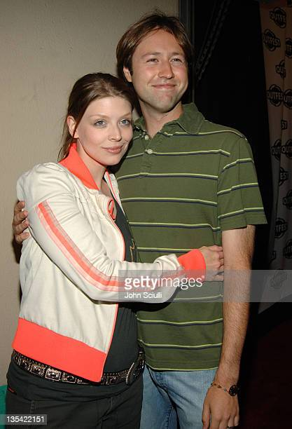 Amber Benson and Russell Brown during Outfest 2005 Opening Night Gala at Orpheum Theatre in Los Angeles California United States