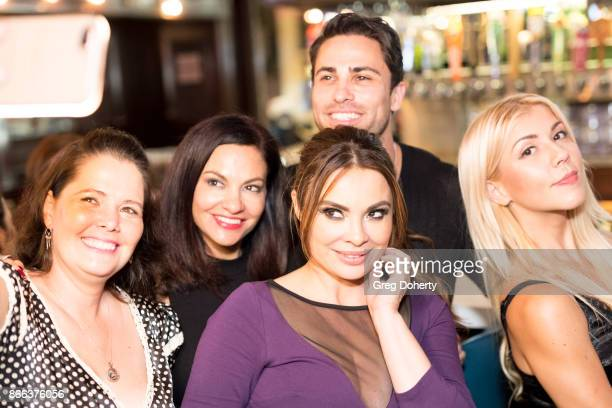 Amber Connelly Lorena Linares Lilly Melgar Carlo Mendez and Cythina Brasil'n attend the Cast Premiere Screening Of Lany Entertainment's 'The Bay'...
