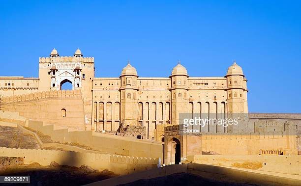 Amber Fort during the day in Jaipur, India