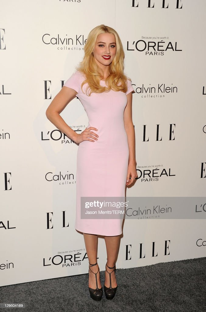 <a gi-track='captionPersonalityLinkClicked' href=/galleries/search?phrase=Amber+Heard&family=editorial&specificpeople=2210577 ng-click='$event.stopPropagation()'>Amber Heard</a> arrives at ELLE's 18th Annual Women in Hollywood Tribute held at the Four Seasons Hotel on October 17, 2011 in Los Angeles, California.