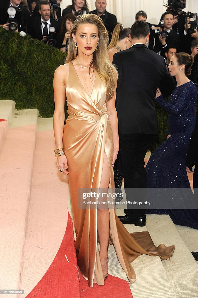 Amber Heard attends 'Manus x Machina Fashion In An Age Of Technology' Costume Institute Gala at