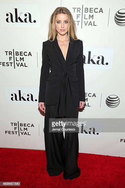 Amber Heard attends the premiere of 'The Adderall Diaries' during the 2015 Tribeca Film Festival at BMCC Tribeca PAC on April 16 2015 in New York City