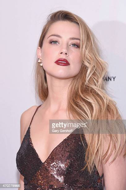 Amber Heard attends the World Premiere Narrative 'When I Live My Life Over Again' during 2015 Tribeca Film Festival at SVA Theater 1 on April 18 2015...