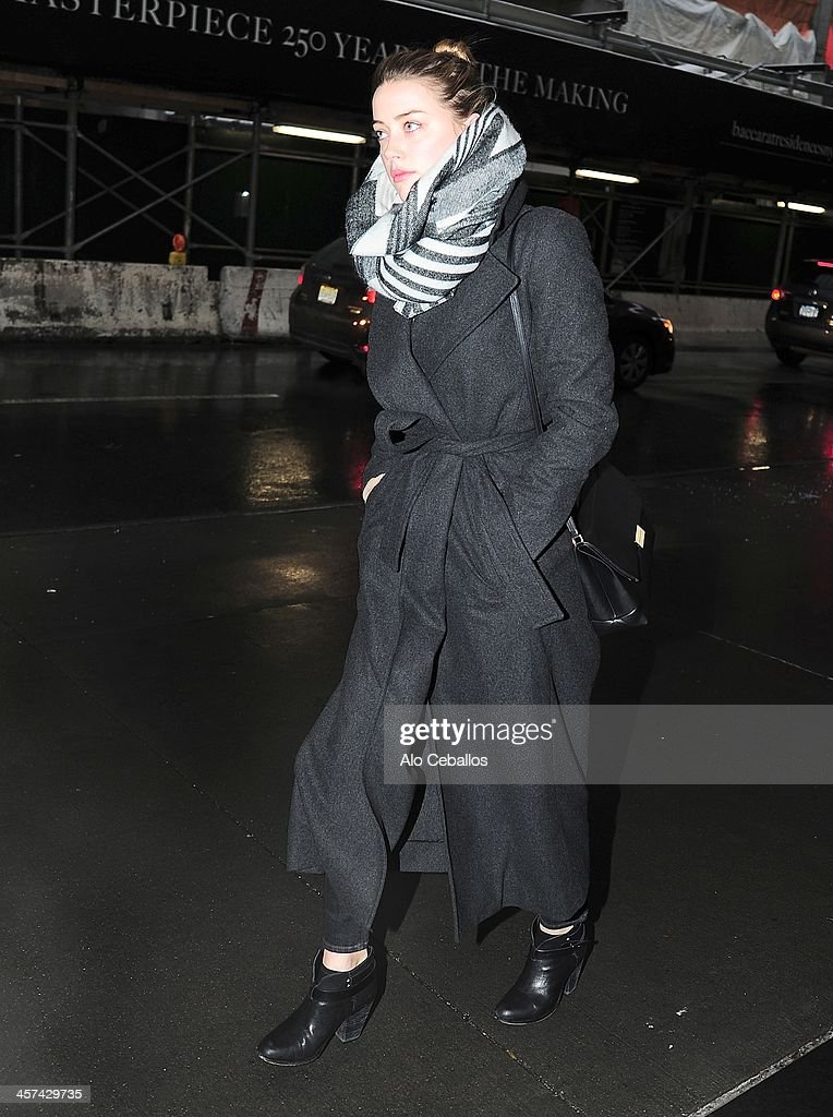 <a gi-track='captionPersonalityLinkClicked' href=/galleries/search?phrase=Amber+Heard&family=editorial&specificpeople=2210577 ng-click='$event.stopPropagation()'>Amber Heard</a> is seen in Midtown on December 17, 2013 in New York City.