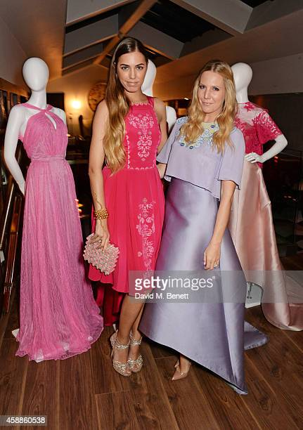 Amber Le Bon and Alice Naylor Leyland attend as evening wear label TOUJOURI presents their SS15 collection with an intimate dinner hosted by Amber Le...