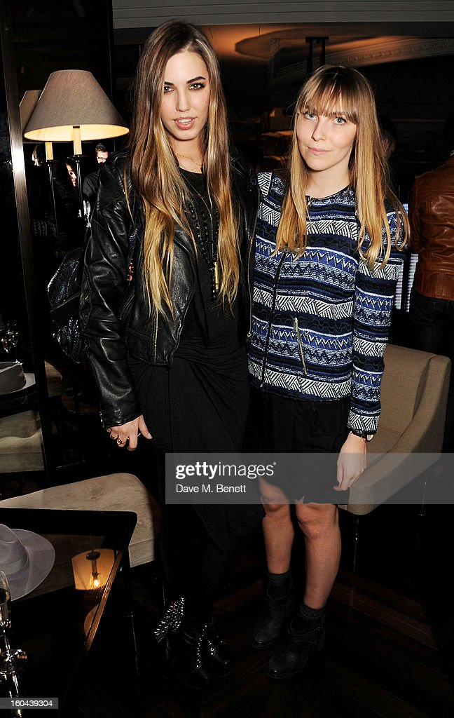 <a gi-track='captionPersonalityLinkClicked' href=/galleries/search?phrase=Amber+Le+Bon&family=editorial&specificpeople=1103030 ng-click='$event.stopPropagation()'>Amber Le Bon</a> (L) and Becky Tong attend the Burberry Live at 121 Regent Street event on January 31, 2013 in London, England.