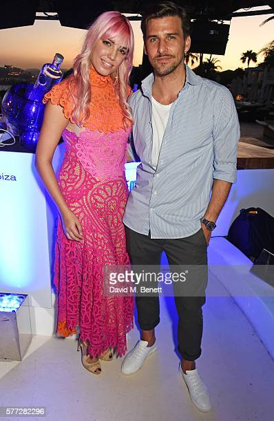 Amber Le Bon and Johannes Huebl attend the CIROC On Arrival party in Ibiza hotspot Destino as model and DJ Amber Le Bon celebrated her arrival moment...