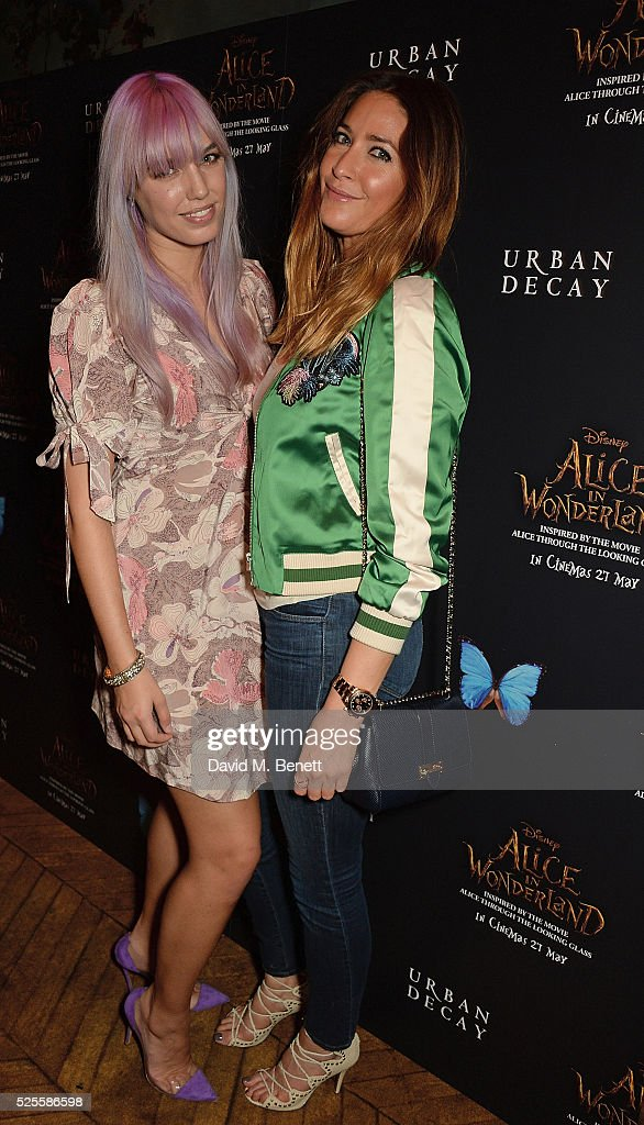 <a gi-track='captionPersonalityLinkClicked' href=/galleries/search?phrase=Amber+Le+Bon&family=editorial&specificpeople=1103030 ng-click='$event.stopPropagation()'>Amber Le Bon</a> and <a gi-track='captionPersonalityLinkClicked' href=/galleries/search?phrase=Lisa+Snowdon&family=editorial&specificpeople=204613 ng-click='$event.stopPropagation()'>Lisa Snowdon</a> attend Urban Decay VIP dinner #UDinWonderland at Sketch on April 28, 2016 in London, England.