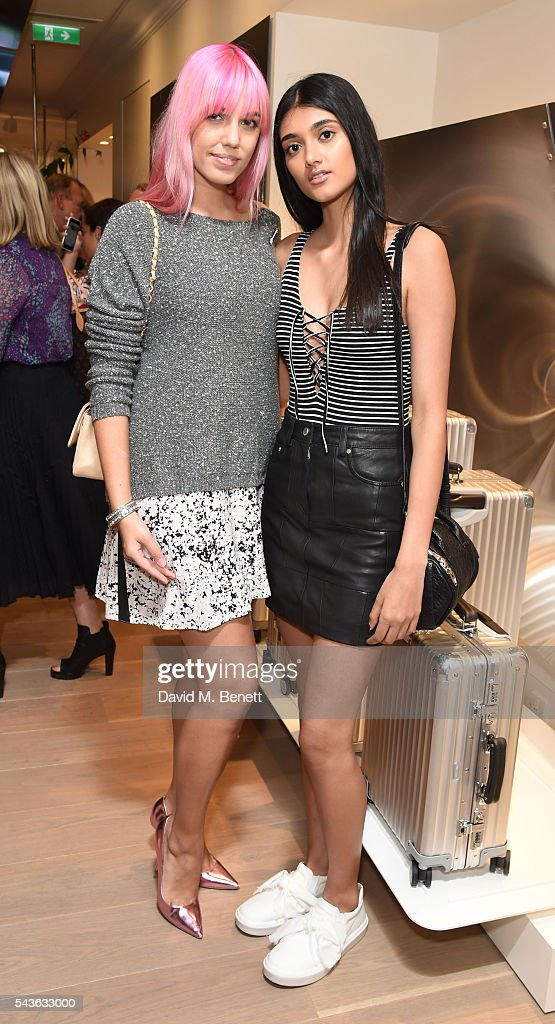 <a gi-track='captionPersonalityLinkClicked' href=/galleries/search?phrase=Amber+Le+Bon&family=editorial&specificpeople=1103030 ng-click='$event.stopPropagation()'>Amber Le Bon</a> and <a gi-track='captionPersonalityLinkClicked' href=/galleries/search?phrase=Neelam+Gill&family=editorial&specificpeople=14383141 ng-click='$event.stopPropagation()'>Neelam Gill</a> attend the RIMOWA London concept store VIP launch party on June 29, 2016 in London, England.
