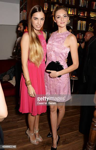 Amber Le Bon and Tamsin Egerton attend as evening wear label TOUJOURI presents their SS15 collection with an intimate dinner hosted by Amber Le Bon...