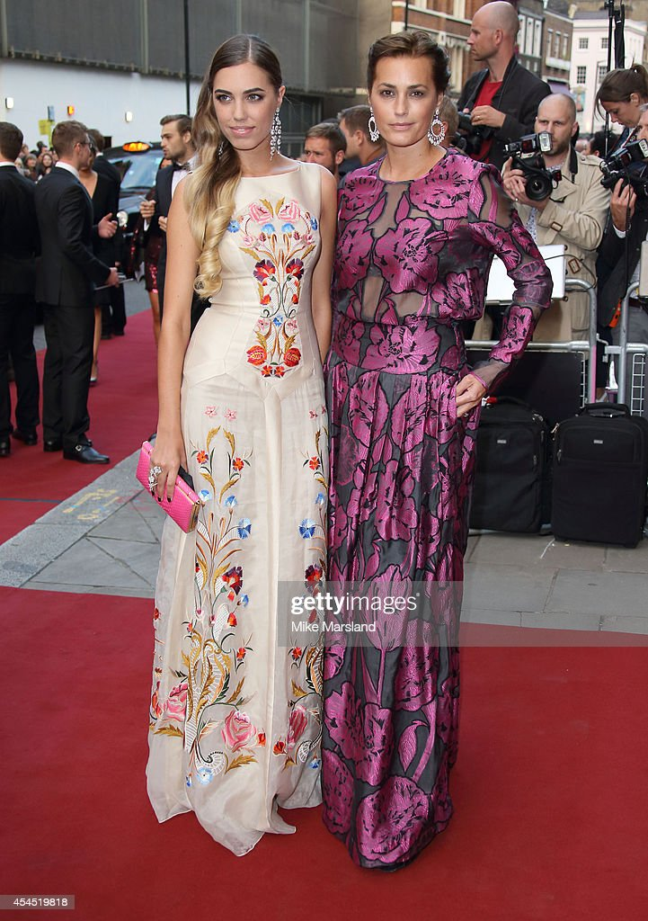 Amber Le Bon and Yasmin Le Bon attend the GQ Men of the Year awards at The Royal Opera House on September 2, 2014 in London, England.