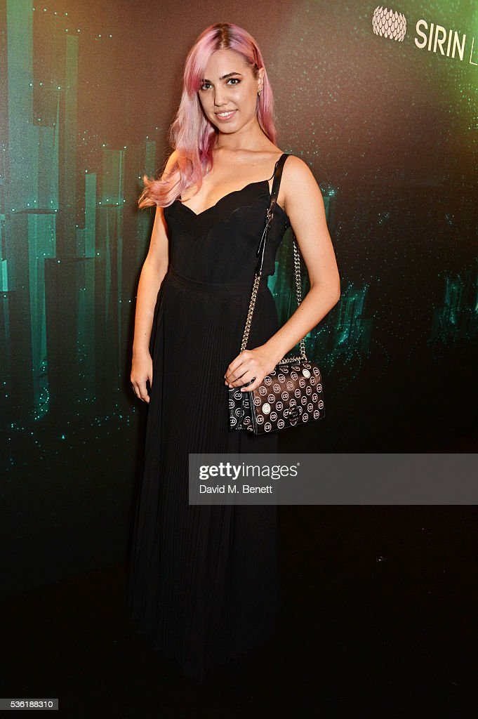 <a gi-track='captionPersonalityLinkClicked' href=/galleries/search?phrase=Amber+Le+Bon&family=editorial&specificpeople=1103030 ng-click='$event.stopPropagation()'>Amber Le Bon</a> attends as SIRIN LABS Launches SOLARIN at One Marylebone on May 31, 2016 in London, England.