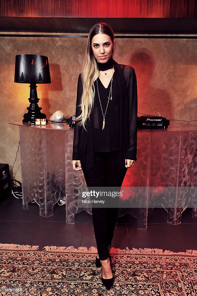 <a gi-track='captionPersonalityLinkClicked' href=/galleries/search?phrase=Amber+Le+Bon&family=editorial&specificpeople=1103030 ng-click='$event.stopPropagation()'>Amber Le Bon</a> attends Baku Cellar 164 for an exclusive show by Gavin Turk, in collaboration with A Space for Art and Baku Magazine in support of The House of Fairytales on October 1, 2013 in London, England.