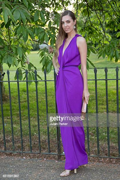 Amber Le Bon attends the annual Serpentine Galley Summer Party at The Serpentine Gallery on July 1 2014 in London England