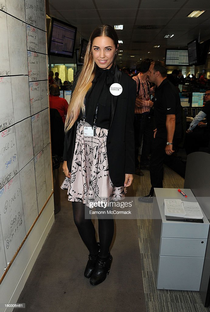 <a gi-track='captionPersonalityLinkClicked' href=/galleries/search?phrase=Amber+Le+Bon&family=editorial&specificpeople=1103030 ng-click='$event.stopPropagation()'>Amber Le Bon</a> attends the BGC Partners charity day at Canary Wharf on September 11, 2013 in London, England.