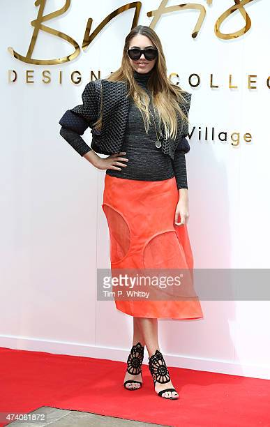 Amber Le Bon attends the British Design Collective press launch at Bicester Village on May 20 2015 in Bicester England