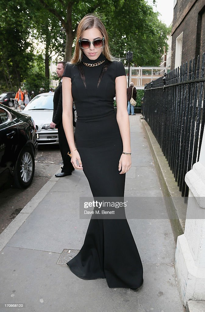 Amber Le Bon attends the Carrera Ignition Night at The House of St Barnabas on June 20, 2013 in London, England.