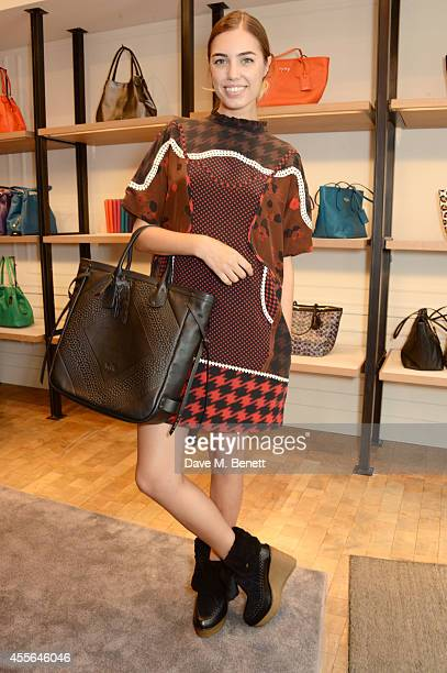 Amber Le Bon attends the Coach Fall 2014 Collection Launch at their New Bond Street store on September 18 2014 in London England