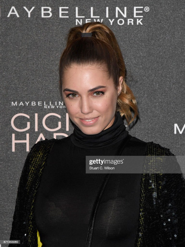 Amber Le Bon attends the Gigi Hadid X Maybelline party held at 'Hotel Gigi' on November 7, 2017 in London, England.