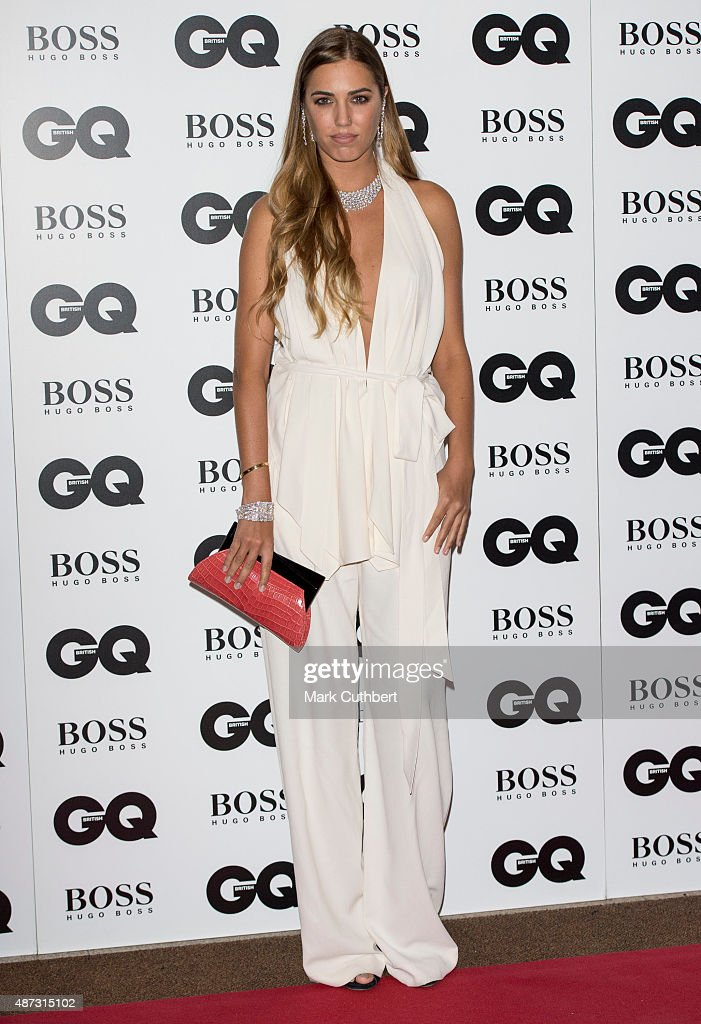 Amber Le Bon attends the GQ Men of the Year Awards at The Royal Opera House on September 8, 2015 in London, England.