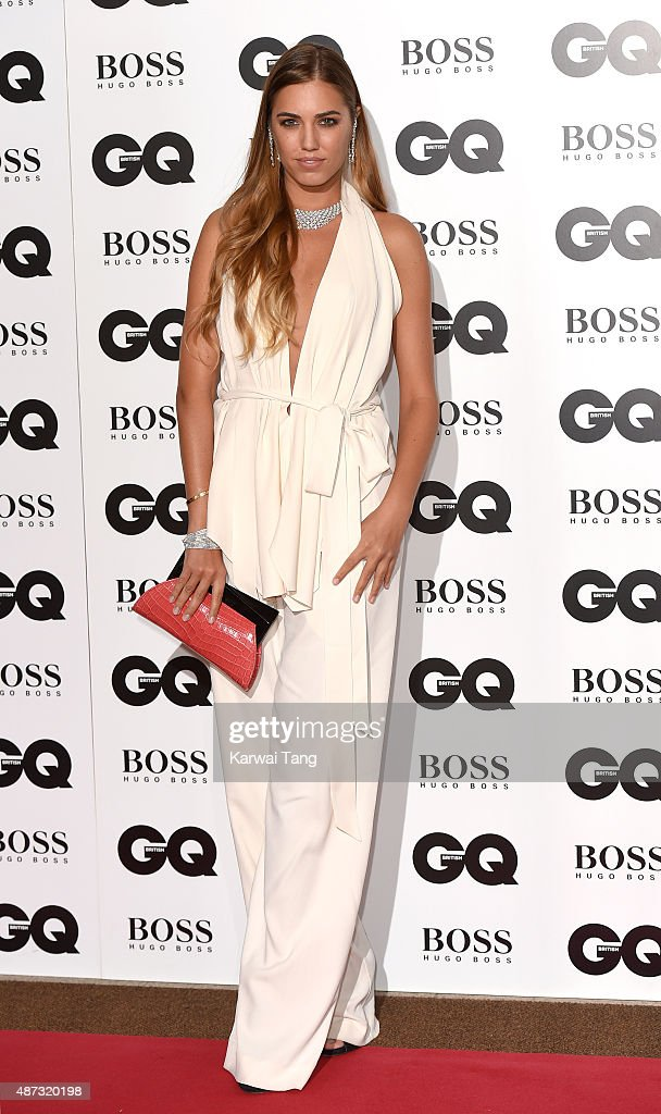 Amber Le Bon attends the GQ Men Of The Year Awards at The Royal Opera House on September 8 2015 in London England