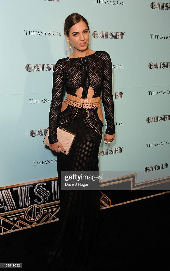 Amber Le Bon attends The Great Gatsby Special Screening at Cineworld Haymarket on May 15, 2013 in London, England.