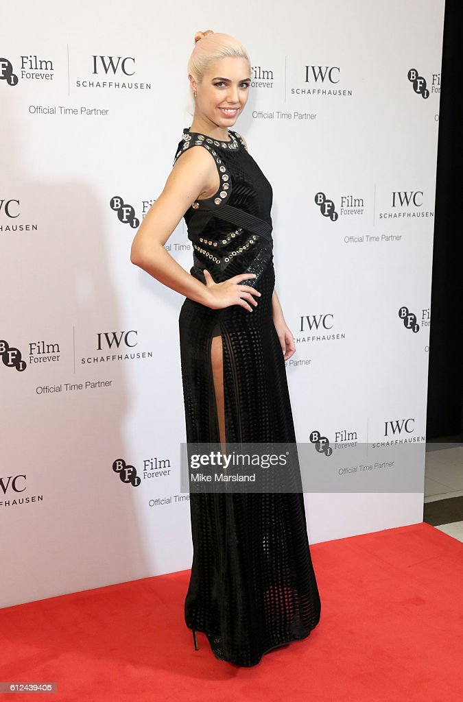 Amber Le Bon attends the IWC Gala Dinner in honour of the British Film Institute at Rosewood Hotel on October 4, 2016 in London, England.