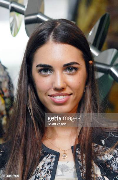 Amber Le Bon attends the launch of the new collection by designer label Vanessa G at Goring Hotel on September 8 2011 in London England