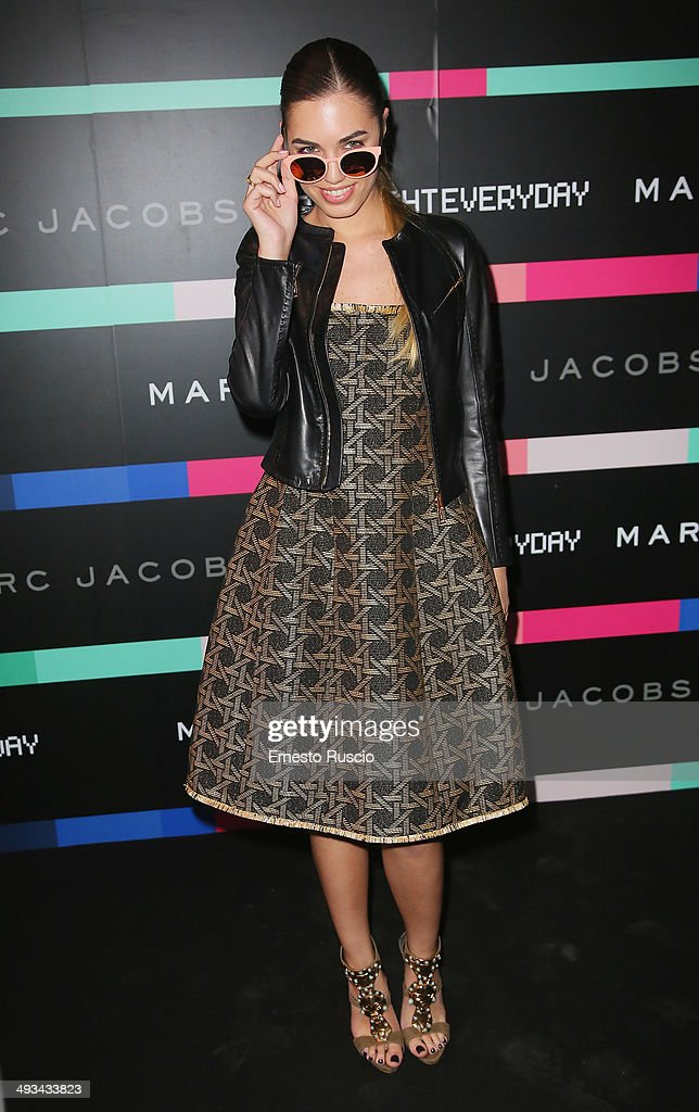 Amber Le Bon attends the Marc By Marc Jacobs MbMJSunnies Party at Spazio 900 on May 23 2014 in Rome Italy