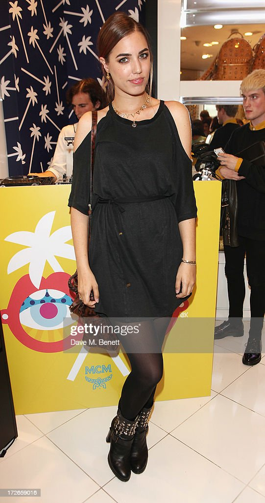 Amber Le Bon attends the MCM Craig And Karl Launch Event on July 4, 2013 in London, England.