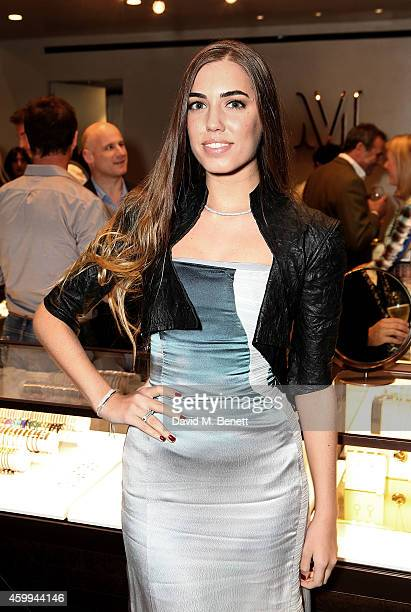 Amber Le Bon attends the Monica Vinader Flagship Store Opening on December 4 2014 in London England