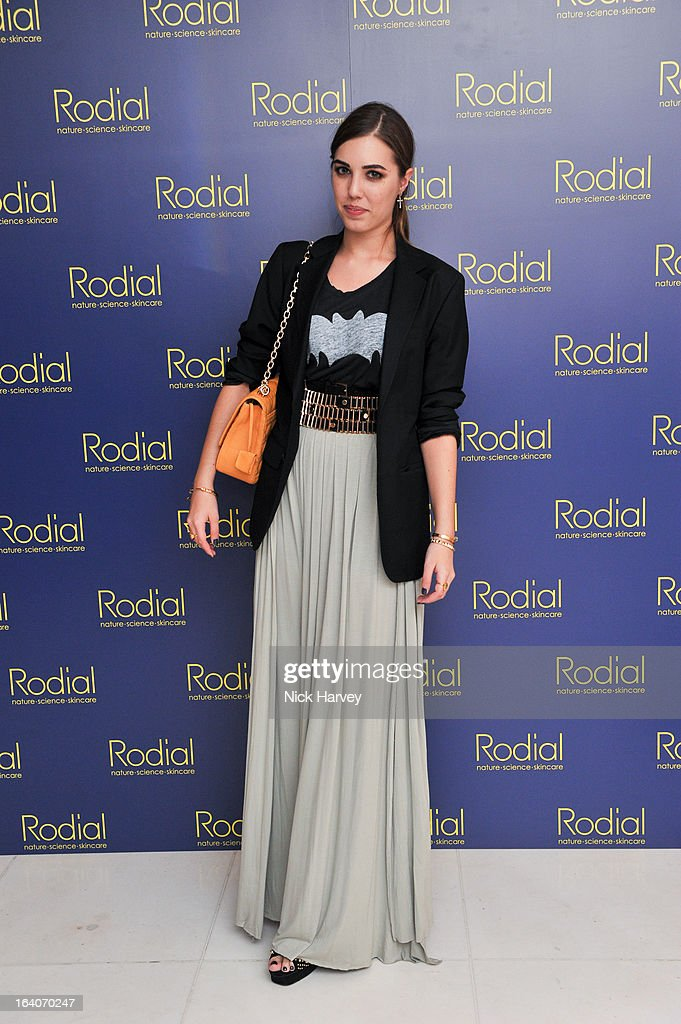 Amber Le Bon attends the Rodial Beautiful Awards at St Martin's Lane Hotel on March 19, 2013 in London, England.