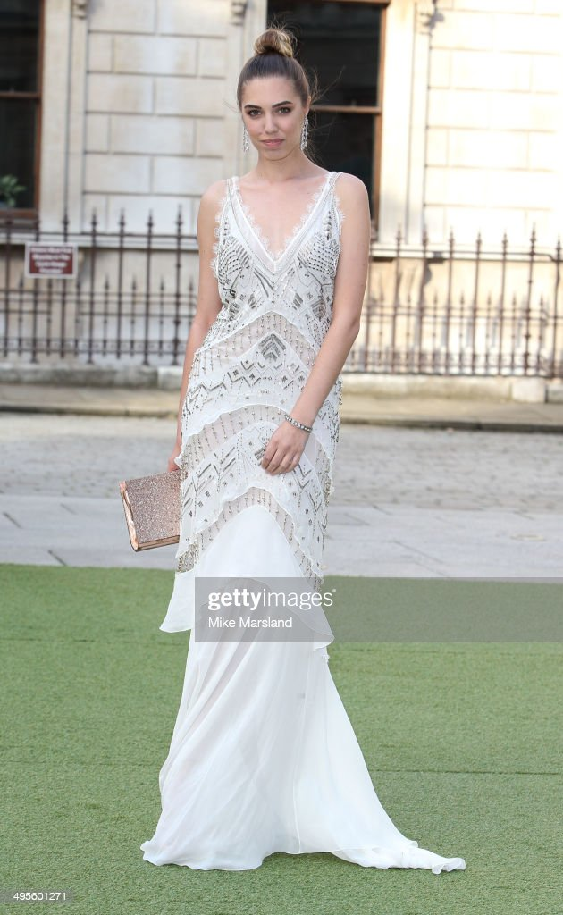 Amber Le Bon attends the Royal Academy Summer Exhibition Preview Party at Royal Academy of Arts on June 4 2014 in London England