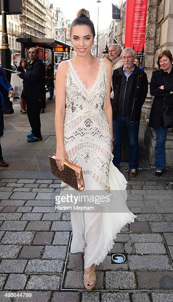 Amber Le Bon attends the Royal Academy Summer Exhibition Preview Party on June 4 2014 in London England