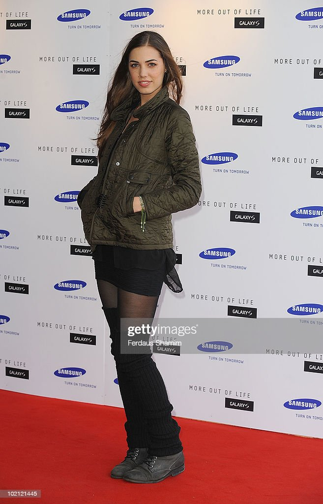 Amber Le Bon attends the Samsung Galaxy S launch on June 15, 2010 in London, England.