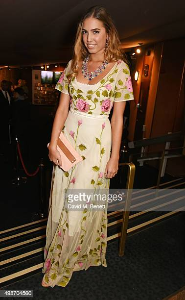 Amber Le Bon attends the screening of La Legende de La Palme d'Or at The Curzon Mayfair on November 25 2015 in London England