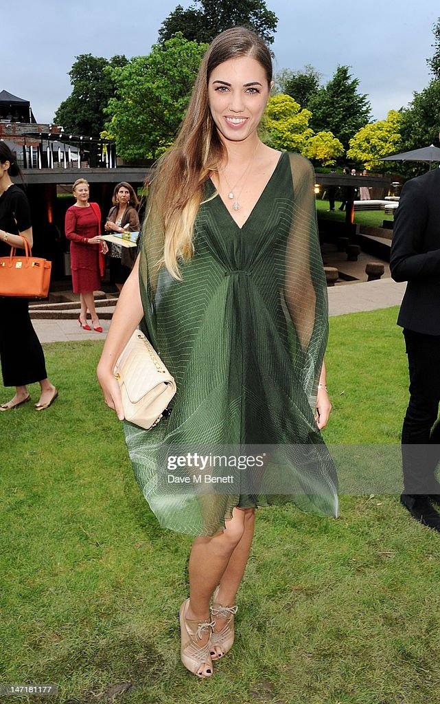 Amber Le Bon attends The Serpentine Gallery Summer Party sponsored by Leon Max at The Serpentine Gallery on June 26, 2012 in London, England.