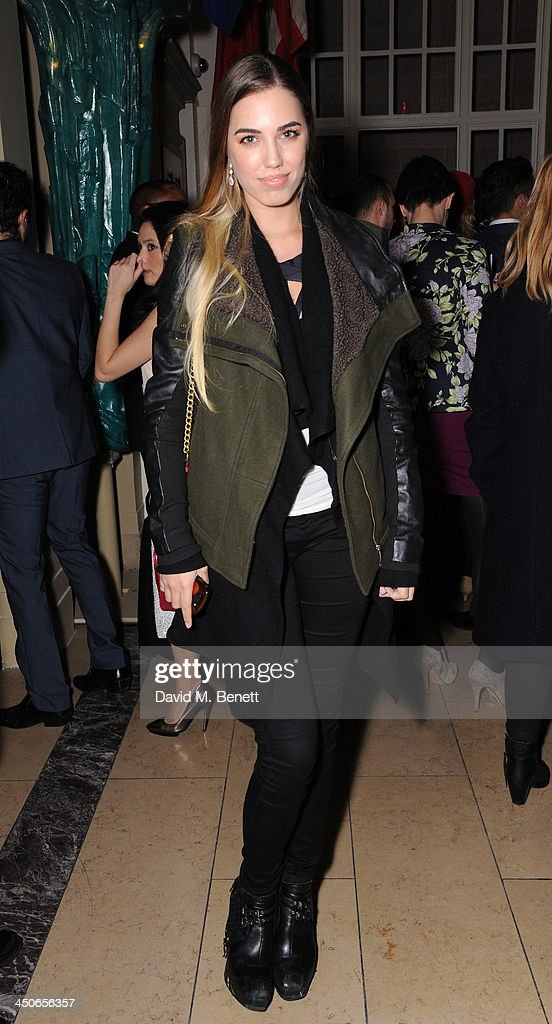 Amber le Bon attends the Steam And Rye launch party on November 19, 2013 in London, United Kingdom.