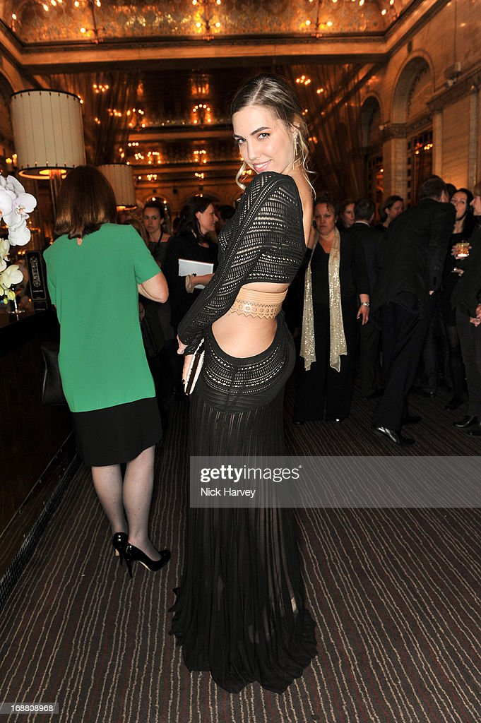 Amber Le Bon attends the Tiffany & Co. and Warner Brothers special screening of The Great Gatsby on May 15, 2013 in London, England.