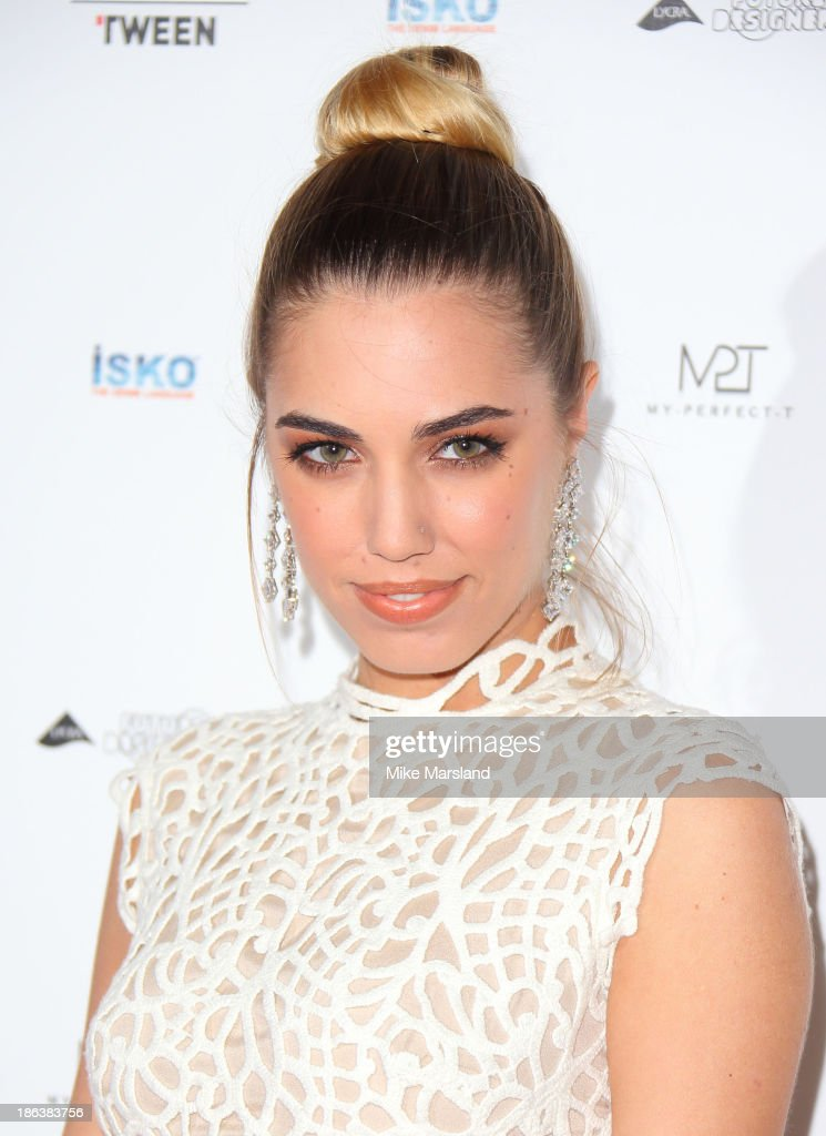 Amber Le Bon attends the WGSN Global Fahsion awards at Victoria & Albert Museum on October 30, 2013 in London, England.