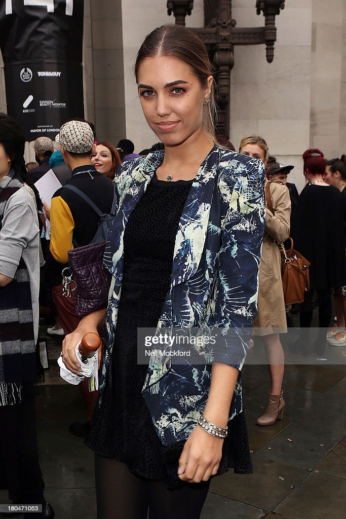 <a gi-track='captionPersonalityLinkClicked' href=/galleries/search?phrase=Amber+Le+Bon&family=editorial&specificpeople=1103030 ng-click='$event.stopPropagation()'>Amber Le Bon</a> is sighted at the Freemason's Hall on September 13, 2013 in London, England.