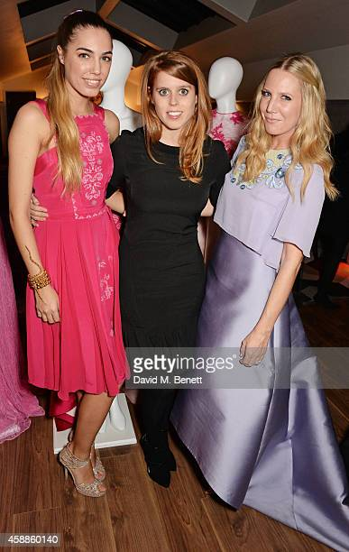 Amber Le Bon Princess Beatrice of York and Alice Naylor Leyland attend as evening wear label TOUJOURI presents their SS15 collection with an intimate...